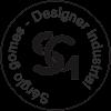 Logo em preto e transparente do site do Sergio Gomes Design